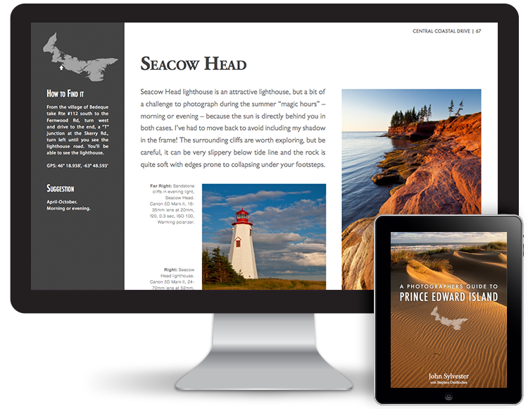 Prince Edward Island Photography eBook